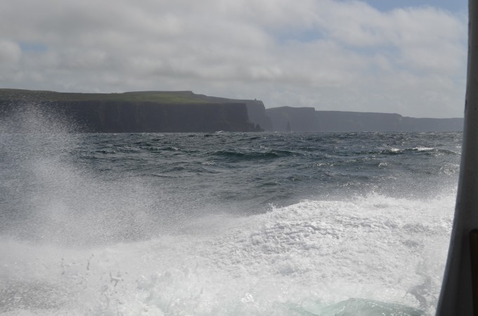 Cliffs from Doolin Boat
