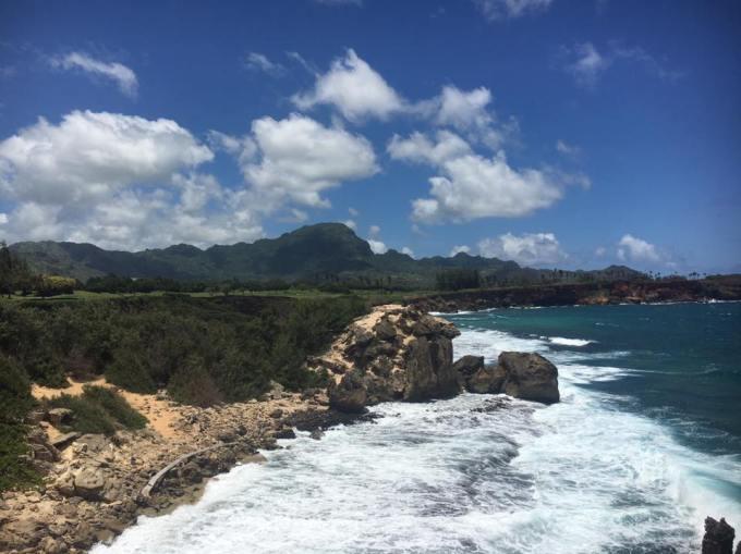 Kauai Poipu beach park